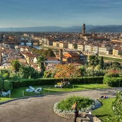 Флоренция свысока: монастырь San Miniato, площадь Michelangelo и сад ирисов